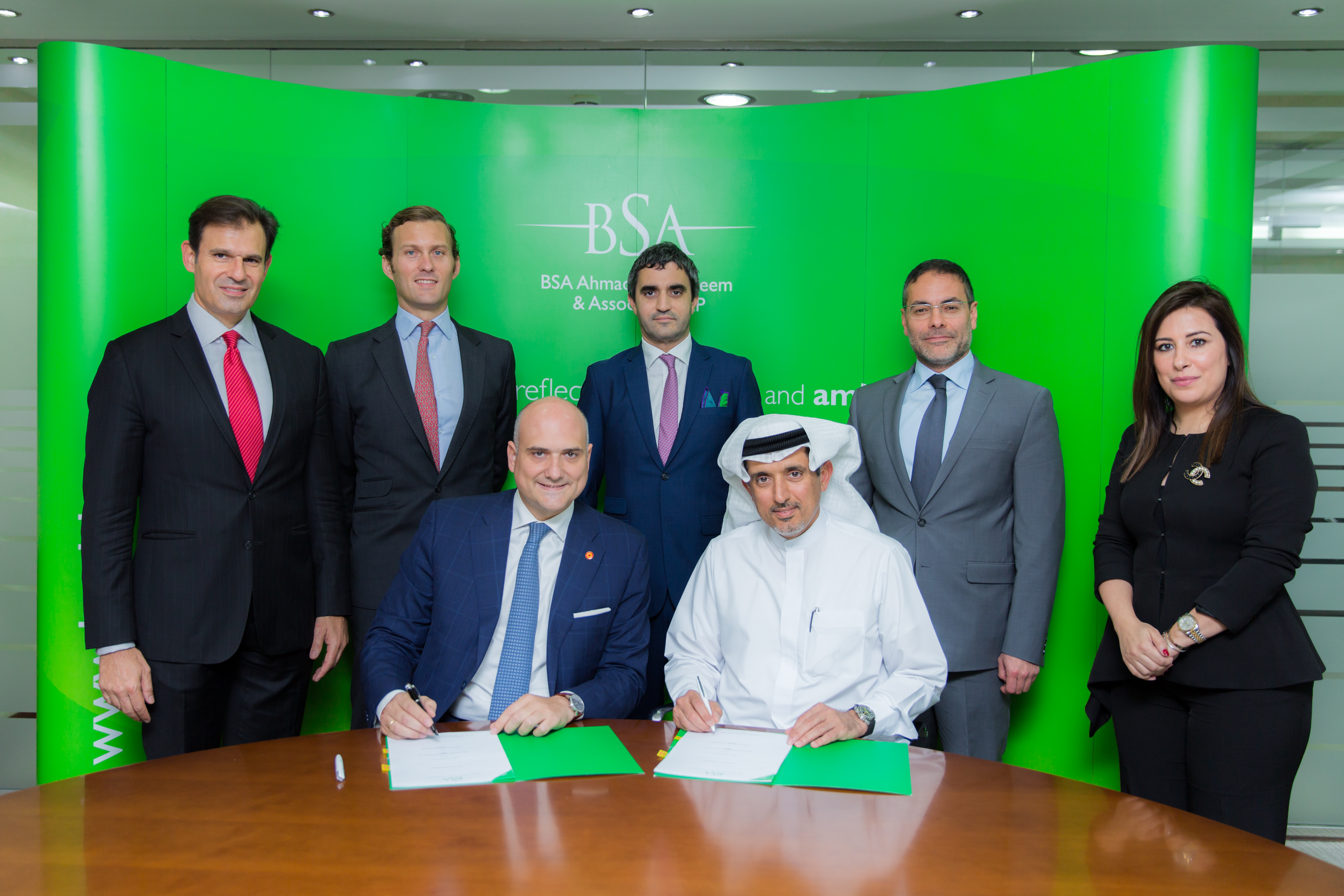 BSA Signing